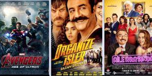 Açık hava sineması Yenikapı'da devam ediyor!