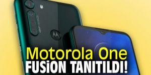 Motorola One Fusion tanıtıldı!