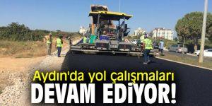 Aydın'da yol çalışmaları devam ediyor!