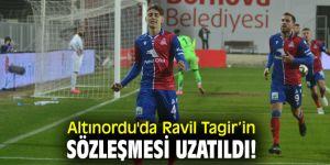 Altınordu'da Ravil Tagir'in sözleşmesi uzatıldı!
