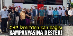 CHP İzmir'den kan bağışı kampanyasına destek!