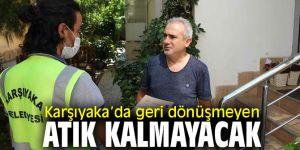 Karşıyaka'da bütün atıklar geri dönüşecek!