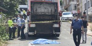 Çöp kamyonu çarptı! Yaşlı kadın hayatını kaybetti
