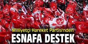 Milliyetçi Hareket Partisi'nden Esnafa Destek