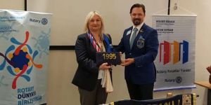Bostanlı Rotary'de görev devri!