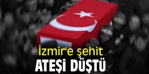 Son dakika! İzmir'e şehit ateşi düştü