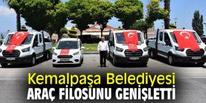 Kemalpaşa Belediyesi araç filosunu genişletti