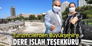 Turizmciler Büyükşehir'e teşekkür etti!