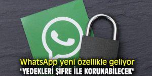 WhatsApp yeni özellikle geliyor!