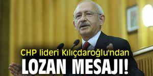 CHP lideri Kılıçdaroğlu'ndan Lozan paylaşımı