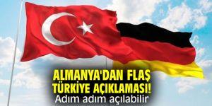 Almanya'dan flaş Türkiye açıklaması!