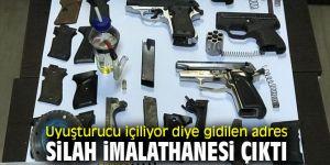 İzmir polisinden silah imalathanesine baskın!