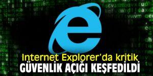 Internet Explorer'da büyük hata!