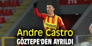 Andre Castro, Göztepe'den ayrıldı