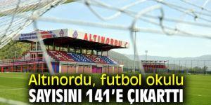 Altınordu, futbol okulu sayısını arttırdı!