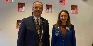 Fethiye Rotary'de bayrak değişimi