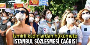 İzmirli kadınlardan İstanbul Sözleşmesi çağrısı