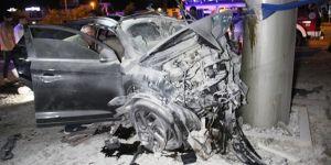 Feci kazada 2 ölü, 3 yaralı