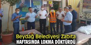 Beydağ Belediyesi Zabıta Haftasında Lokma Döktürdü