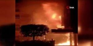 Korona otelinde yangın! 11 ölü