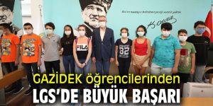 GAZİDEK öğrencilerine Başkan Arda'dan tebrik