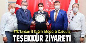 STK'lardan Mehmet Burak Öztop'a ziyaret!