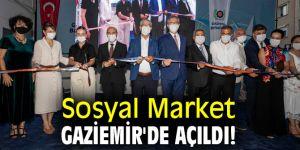 Sosyal Market, Gaziemir'de açıldı!