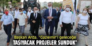"""Başkan Arda, """"Gaziemir'i geleceğe taşıyacak projeler sunduk"""""""