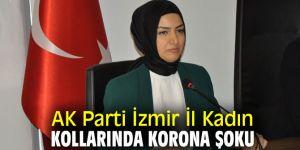 AK Parti İzmir İl Kadın Kollarında Korona Şoku