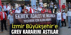 Büyükşehir'e grev kararını astılar