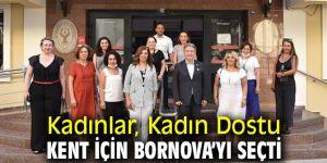 Bornova Kadın Dostu Kent Seçildi