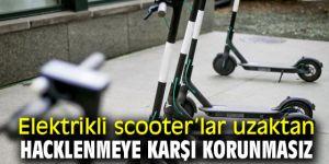 Elektrikli scooter'lara dikkat! Hacklenmeye açık