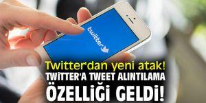 Twitter'dan yeni atak! Twitter'a tweet alıntılama özelliği geldi!