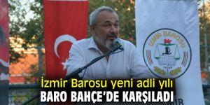 İzmir Barosu yeni adli yılı karşıladı!