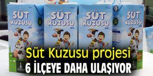 Süt Kuzusu projesi 6 ilçeye daha ulaşıyor