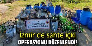 İzmir'de sahte içki operasyonu düzenlendi!