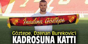 Dzenan Burekovic Göztepe kadrosunda!