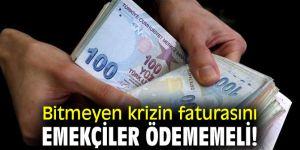 CHP'li Beko, 'Bitmeyen krizin faturasını emekçiler ödememeli!'