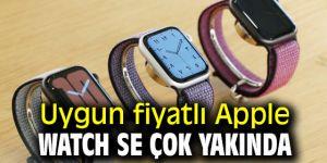 Uygun fiyatlı Apple Watch SE çok yakında