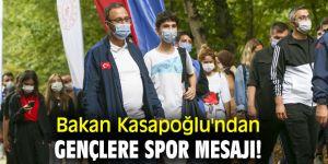 Bakan Kasapoğlu'ndan gençlere spor mesajı!