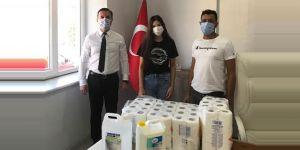 LİSELİ LARA NUR'DAN 15 KÖY OKULUNA DESTEK KAMPANYASI
