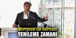 Bornova Belediyesi, kentsel yenileme için düğmeye bastı!