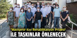 """""""Mavişehir Kıyı Rehabilitasyon Projesi"""" ile taşkınlar önlenecek"""