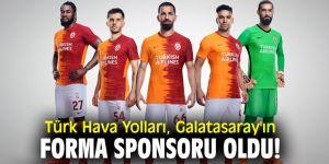 Türk Hava Yolları, Galatasaray'ın forma sponsoru oldu!