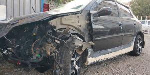 Çalıntı araçla kaza 3'ü ağır 4 yaralı!