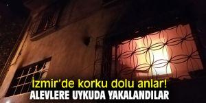 İzmir'de korku dolu anlar