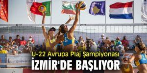 U-22 Avrupa Plaj Şampiyonasında maçlar yarın başlıyor
