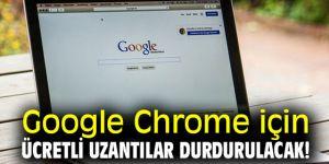 Google Chrome o uzantıları durduracak!