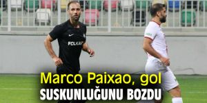 Marco Paixao, gol suskunluğunu bozdu