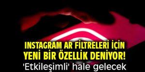 Instagram AR filtreleri için yeni bir özellik deniyor! 'Etkileşimli' hale gelecek